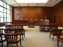 Governmental Hearing Room Royalty Free Stock Image