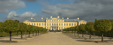 Governmental Rundale floristic park in Latvia Royalty Free Stock Photography
