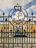 Governmental Rundale palace in Latvia Royalty Free Stock Photos