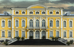 Governmental Rundale palace in Latvia Royalty Free Stock Images