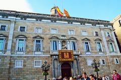 Governo della Catalogna che costruisce Barcellona Fotografia Stock