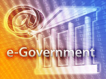 Governo elettronico Fotografia Stock