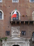 Governo oalace with the winged lion of Venezia Royalty Free Stock Images