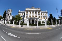 Governor's Palace in Rijeka,Croatia Stock Photography