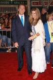 Governor Arnold Schwarzenegger,Maria Shriver Royalty Free Stock Images