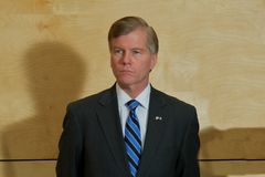Governor Bob McDonnell VA. Governor McDonnell Republican of Virginia faces a contentious decision on wether or not to approve the Mining of Uranium in the State royalty free stock image