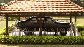 The governor Car in Malacca Stock Photo