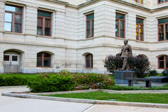 Governor Ellis Arnall Statue at the Georgia Statehouse Stock Image