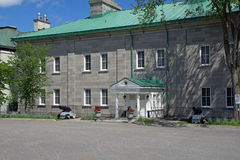 Governor - General's residence. At the Citadelle in Old Quebec royalty free stock image