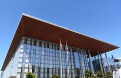 Governor George Deukmejian Courthouse Closeup Royalty Free Stock Photos