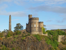 Governor House. On Calton Hill in Edinburgh, Scotland Royalty Free Stock Images