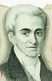 Governor Ioannis Kapodistrias. Governor Kapodistrias on 500 Drachmes 1983 banknote from Greece. Ioannis Kapodistrias (1776-1831)  was the first head of state of Stock Photography