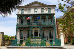 Governor John Rutledge House, Broad St. Charleston, SC. Stock Photography
