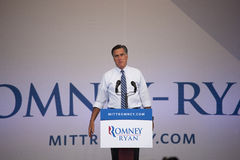 Governor Mitt Romney Stock Image