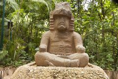 The Governor Olmec, La Venta Park.Villahermosa,Tabasco,Mexico