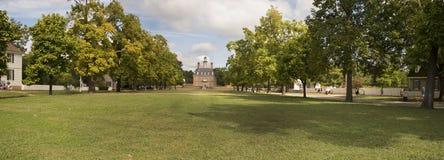 Governor' palacio de s en Williamsburg Fotografía de archivo
