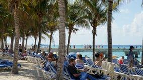 Governor's Beach on Grand Turk Island Stock Photo