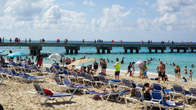 Governor's Beach on Grand Turk Island Stock Photos