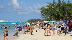 Governor's Beach on Grand Turk Island Stock Photography