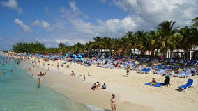 Governor's Beach on Grand Turk Island Stock Images