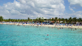 Governor's Beach on Grand Turk Island Royalty Free Stock Photography