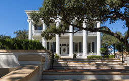 The Governor`s House in Austin Texas. Near the Capitol Building Stock Photo