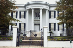 Governor's Mansion in Jackson. Mississippi. National historic landmark Royalty Free Stock Photo