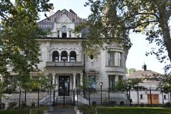 Governor`s Mansion in Salt Lake City, Utah. USA Royalty Free Stock Images