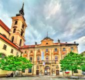 Governor`s Palace in Brno, Czech Republic. Governor`s Palace in Brno - Moravia, Czech Republic Royalty Free Stock Photo