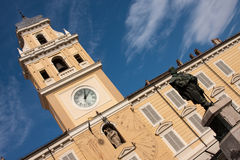 Governor's Palace, Piazza Garibaldi, Parma, Italy Royalty Free Stock Photography