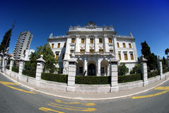 Governor's palace in Rijeka,Croatia Royalty Free Stock Image