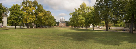 Governor' s-Palast in Williamsburg Stockfotografie