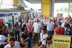 Governor of the state of Rio de Janeiro Luiz Fernando Pezao Royalty Free Stock Images