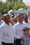 The governor of the Tyumen region Vladimir Yakushe Stock Image