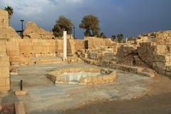 Governors Bathhouse Caesarea Maritima National Park Stock Photos