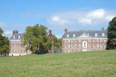 Governors Island. Which served as a defensive post during the American Revolutionary War, and is now a popular tourist destination in New York City Stock Image