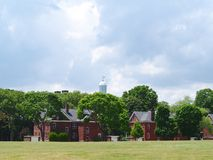 Governors island. Landscape in Governors island New York Stock Images