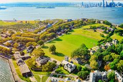 Free Governors Island National Monument Near New York And Manhattan F Royalty Free Stock Photography - 120527567