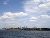 Governors island. In New York Stock Photography