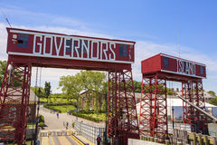 Governors Island, New York. Royalty Free Stock Photo