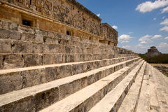 Governors palace in Uxmal Royalty Free Stock Image