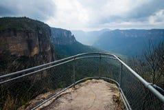 Govett's Leap. Blue Mountains National Park, near Blackheath, NSW, Australia Royalty Free Stock Photos