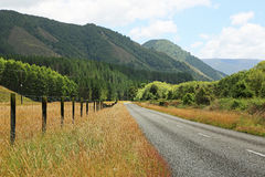 Gowan Valley road Royalty Free Stock Photo