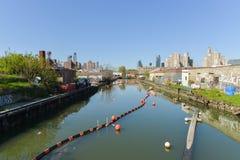 Gowanus Canal, Brooklyn, NY Royalty Free Stock Photography