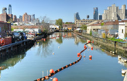 Gowanus Canal, Brooklyn, NY Stock Photo