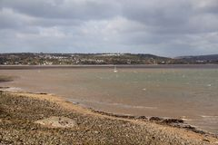 Gower bay, Swansea, UK Royalty Free Stock Photos