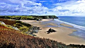 The Gower royalty free stock image