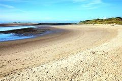 Gower Peninsula At The Loughor Estuary, Burry Port Stock Photo