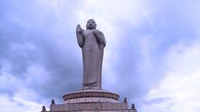 Gowtham Budda Hyderabad zbiornika Bund Obraz Stock