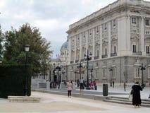 Goya陈列在马德里王宫的2012年10月  免版税库存图片